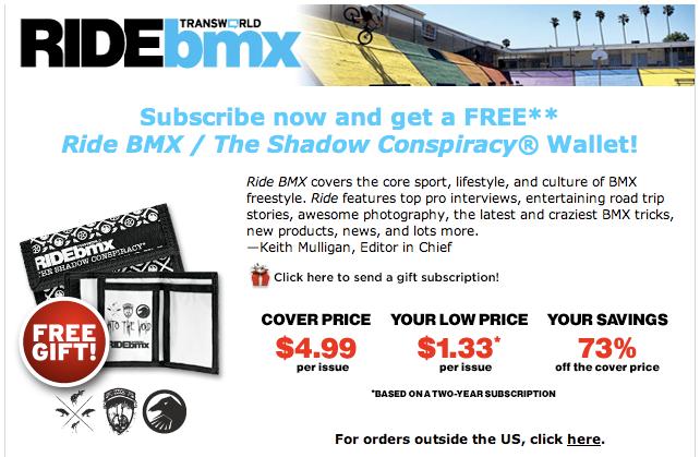 Ride BMX – March 2010