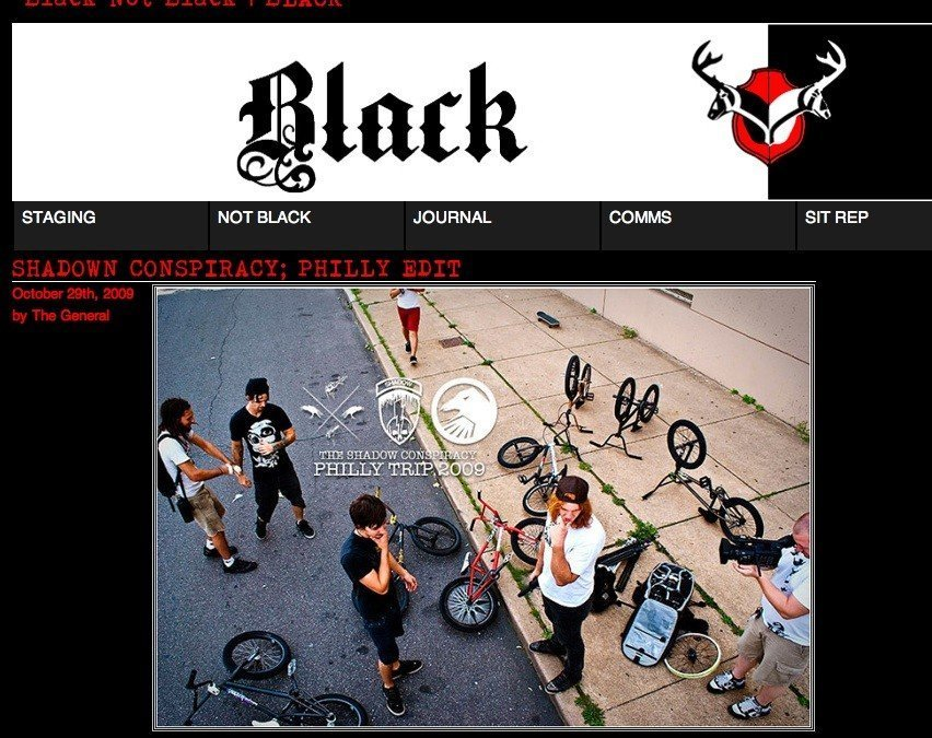 Black Not Black – October 2009