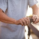 Shadow Coffin Wax - waxing a rail