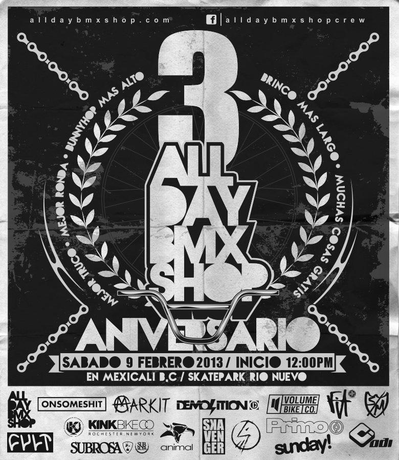 All Day BMX Anniversary Jam