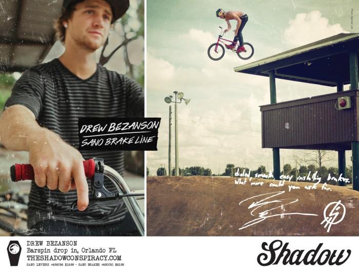 Drew Bezanzon - Sano Brake Ad