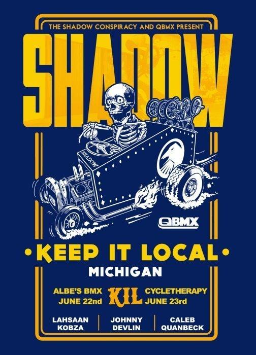 Shadow x QBMX 2013 KIL Tour Michigan