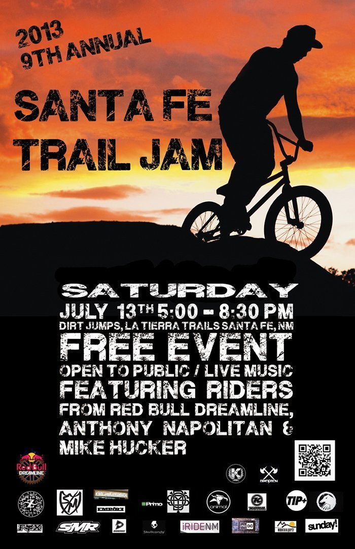 TRail jam flyer 20139th Annual Santa Fe Trail Jam