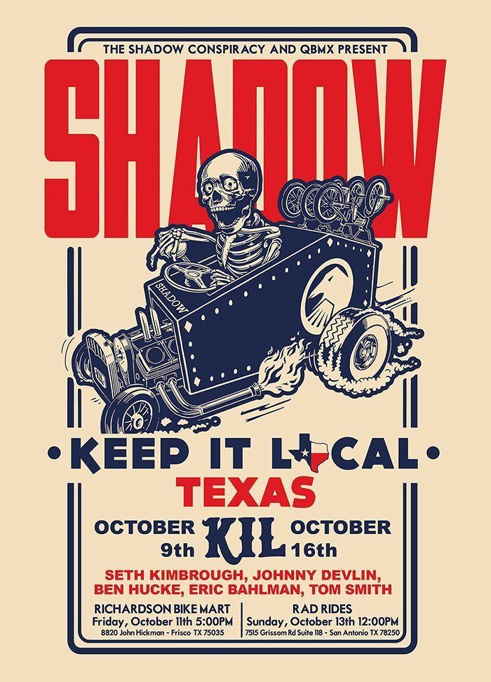Shadow Keep it Local Tour: Texas