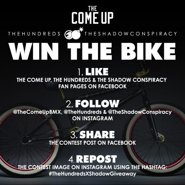 TH x TSC Bike Giveaway