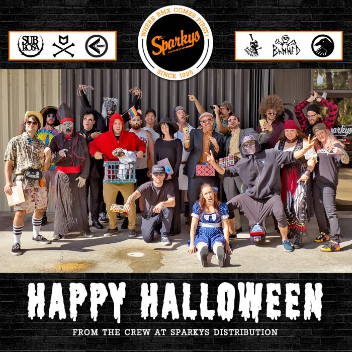 Happy Halloween from the Crew at Sparkys!