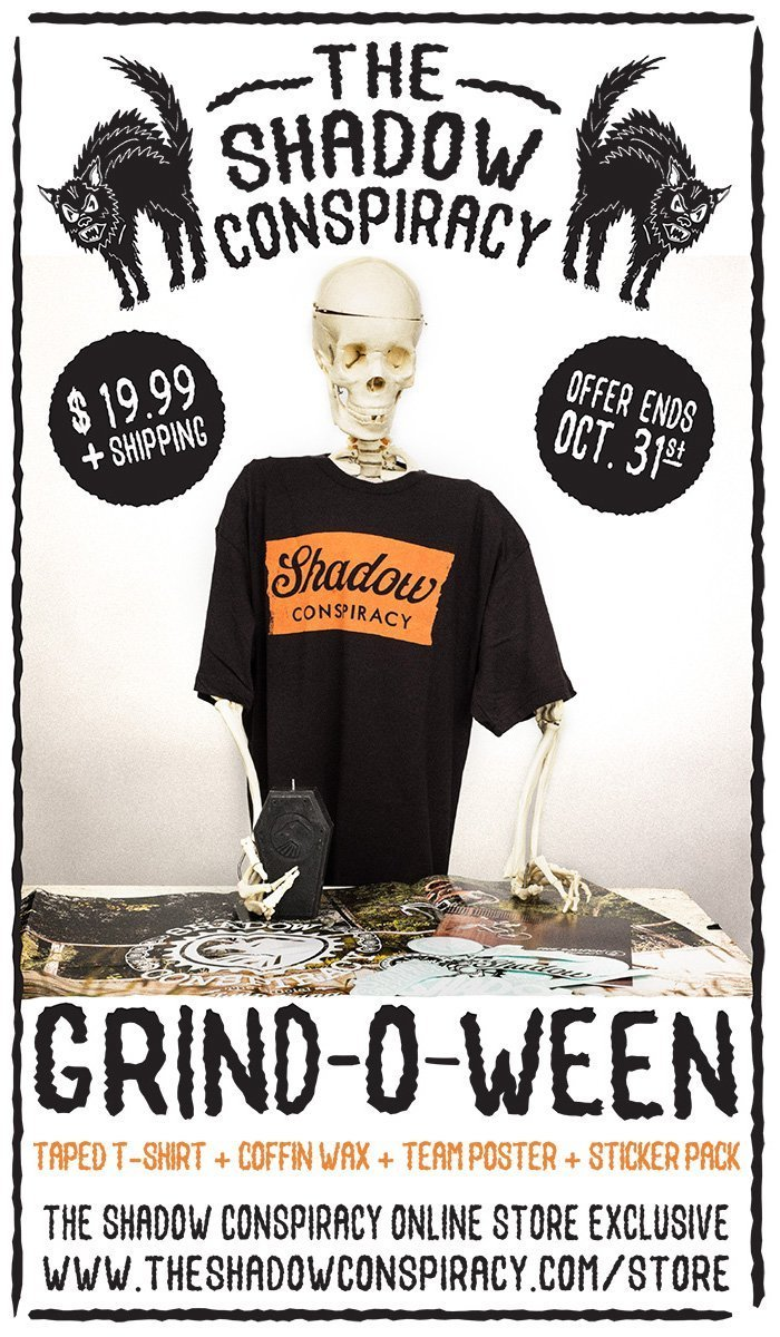 Shadow Grind-O-Ween Webstore Sale