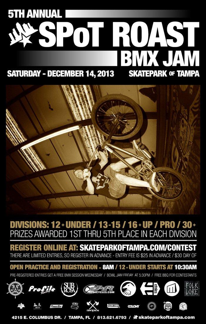 5th Annual Spot Roast BMX Jam