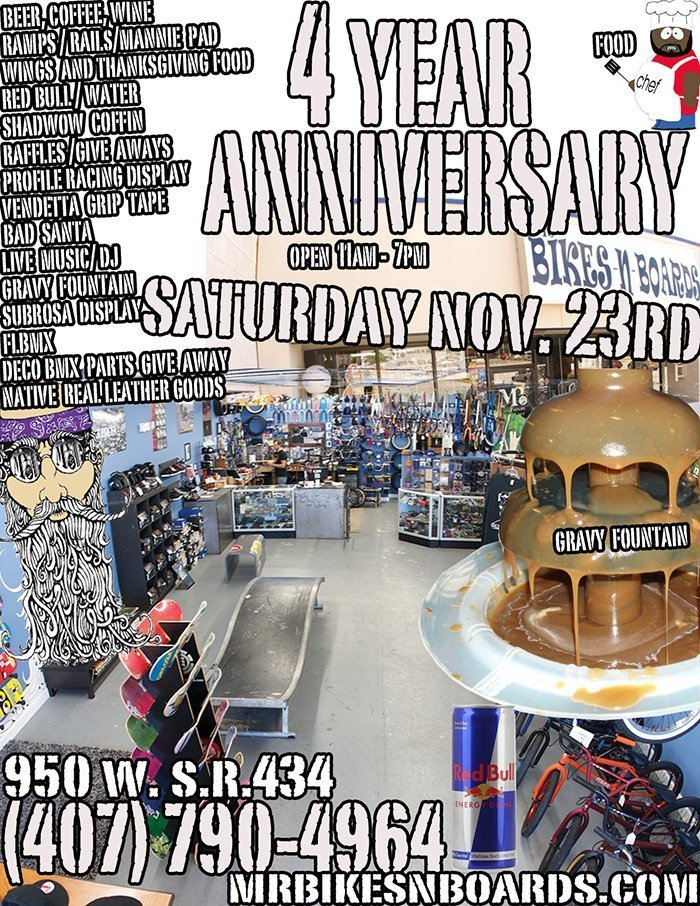 Mr. B's 4 Year Anniversary Jam