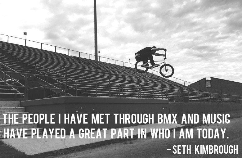 Seth Kimbrough - Vital BMX Music Interview