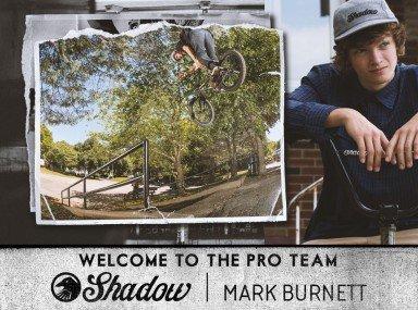 Mark Burnett – Welcome to the Pro Team