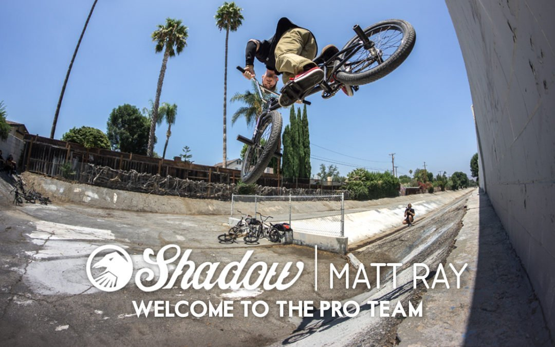 Matt Ray – Welcome to the Pro Team