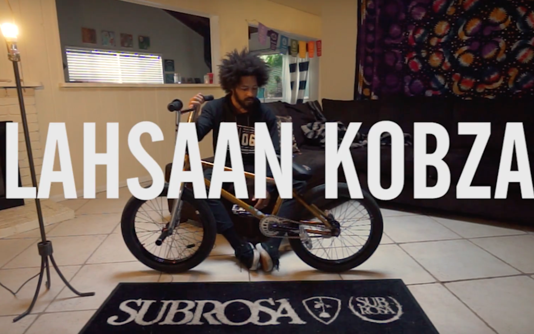 Lahsaan Kobza TCU Bike Check