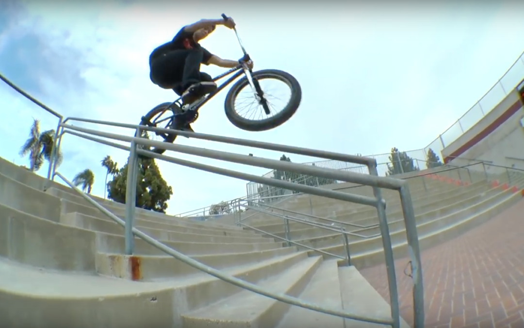 "Johnny Atencio – Ride BMX ""E-Log"""
