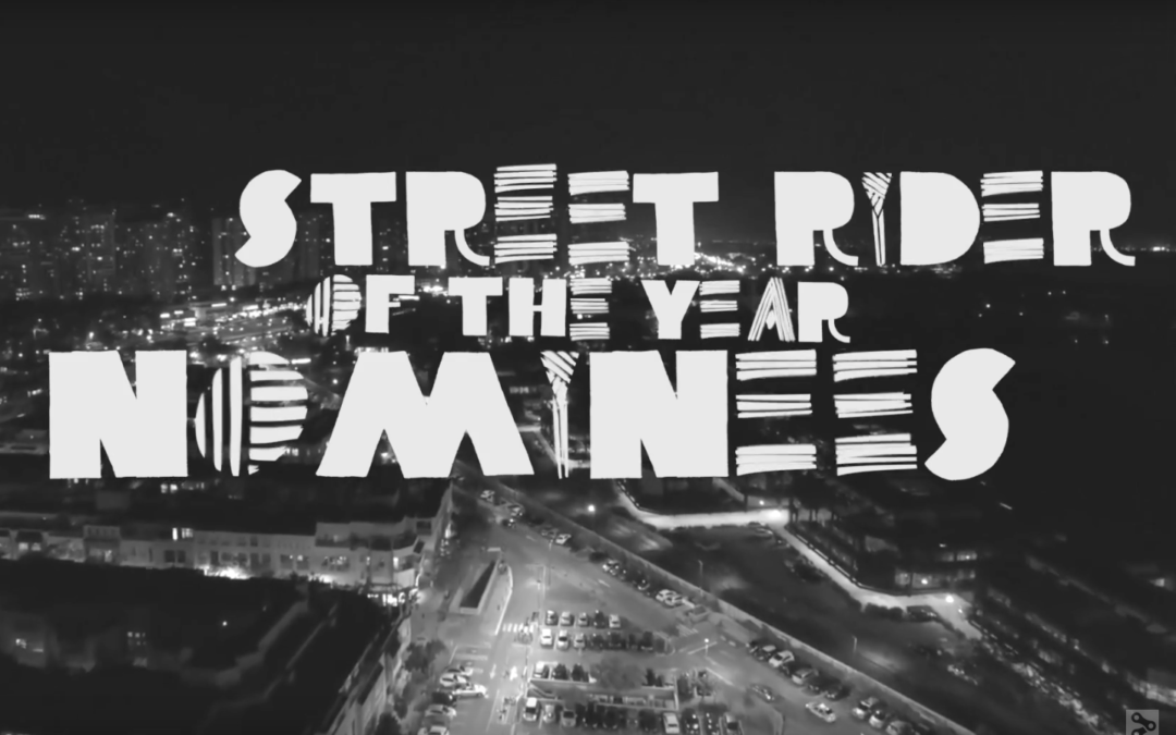 Simone Barraco Nominated for NORA CUP Street Rider of the Year
