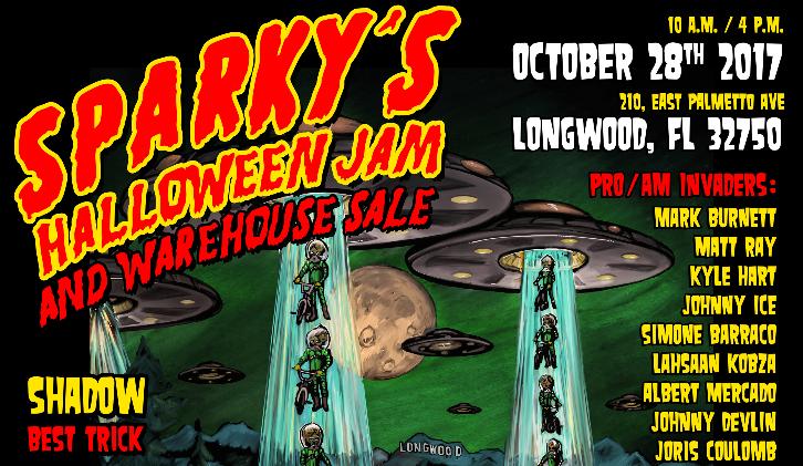 Sparky's Halloween Jam 2017