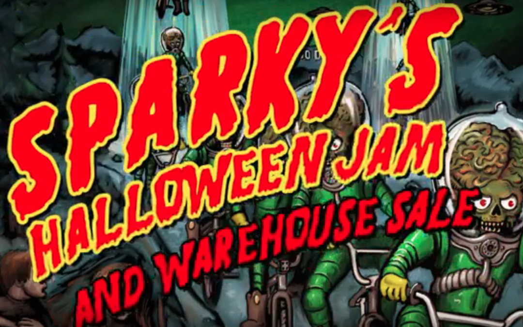 Sparky's Halloween Jam 2017 Video