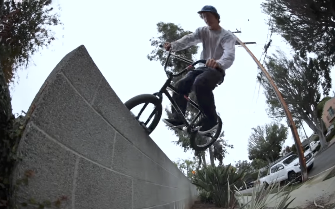 "Mark Burnett in ""LBC Street Cruise"" via OurBMX"