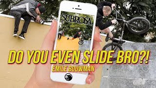 "Emile Bouwman – ""Do You Even Slide Bro?"" via DIG"