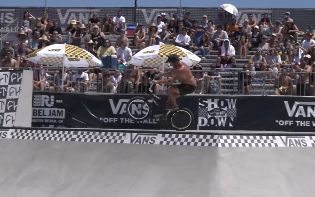 Trey Jones and Mark Burnett at Vans Rebel Jam 2019