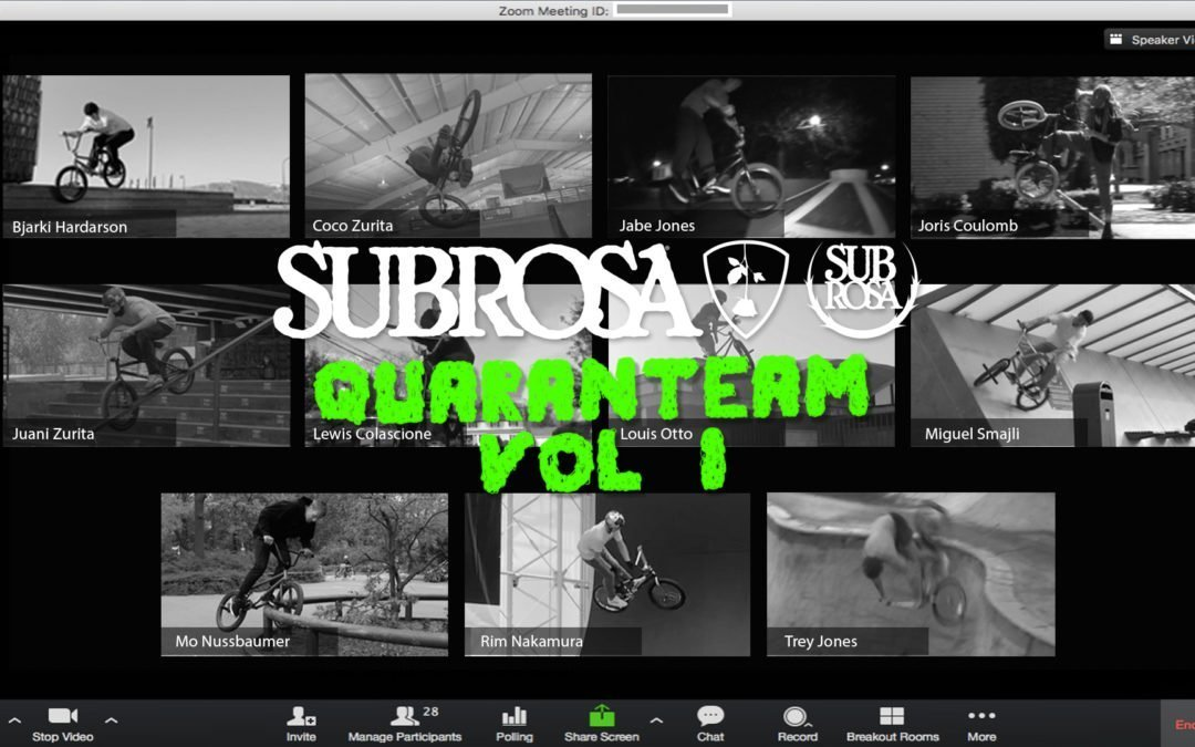 "Subrosa Brand – ""Quaranteam Vol.1"""